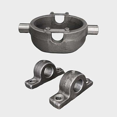 Lagerbock - Teleskopzylinder