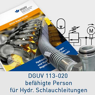 DGUV Seminar NAchschulung zur DGUV113-020