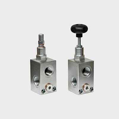 Druckbegrenzungsventile Rohrleitungseinbau direktgesteuert - 350bar