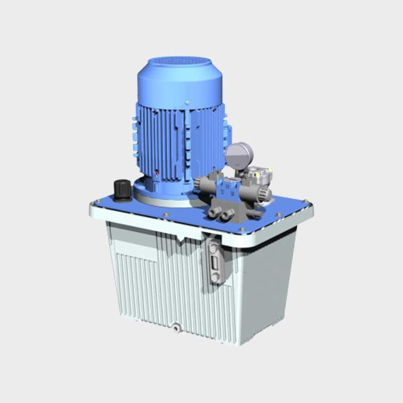 Hydraulik Shop hydraulikaggregat mit elektrischem wegeventil