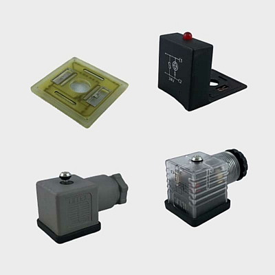 Leitungsdosen und LED Zwischenplatten für Ventile