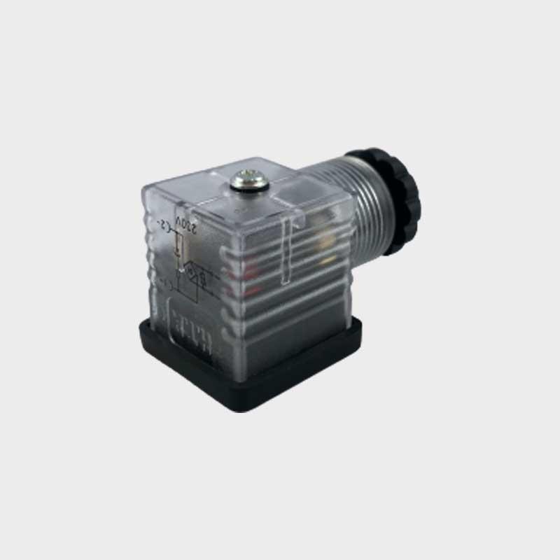 Stecker mit LED 2-Polig