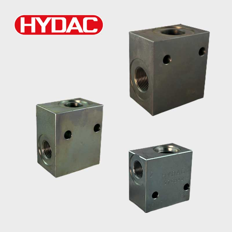 Rohranschlussgehäuse Hydac