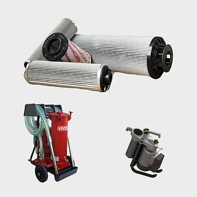 Hydraulikfilter + Filtrationsgeräte