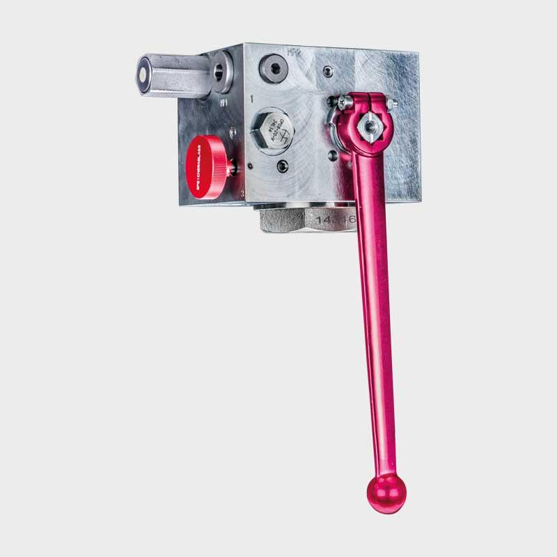 Sicherheits-, Absperrblock SSAB-1.0-30-H/100V 1