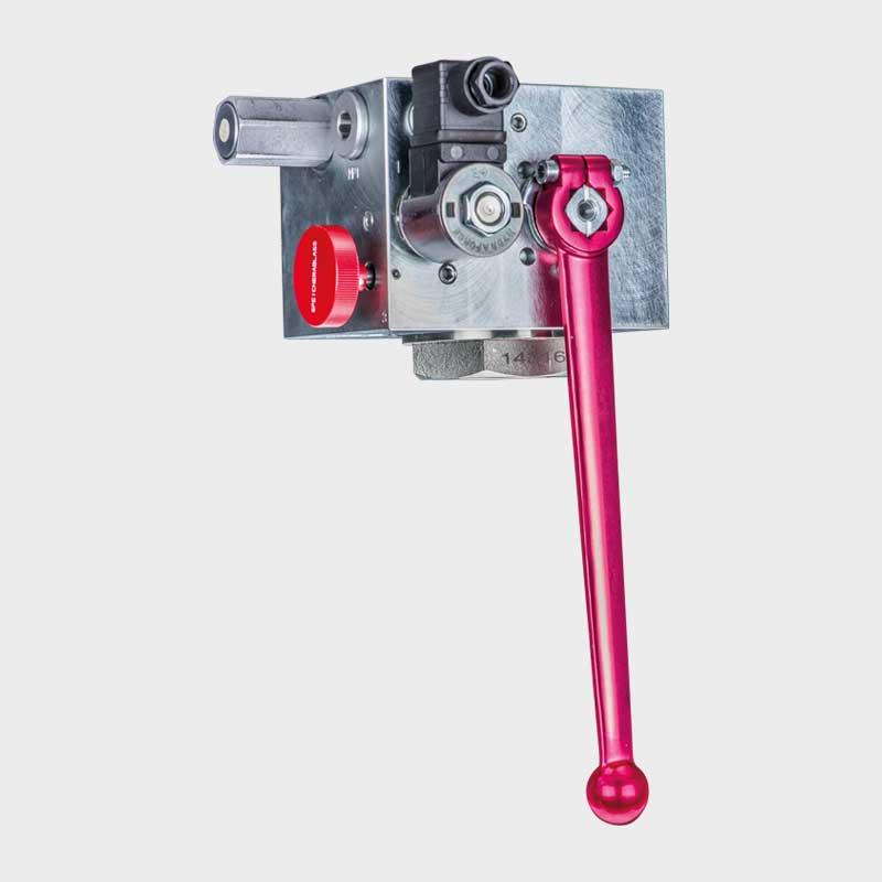 Sicherheits-, Absperrblock SSAB-1.0-30-EO/210-24VDC V 1