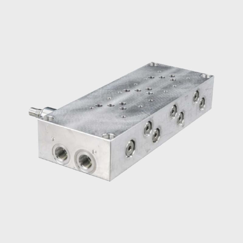 Reihenanschlussplatte PBL10/4VMP12/TS.S 1